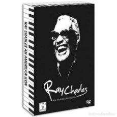 CDs de Música: RAY CHARLES * 2CD + DVD * AN AMERICAN ICON * LTD DIGIPACK * BOX PRECINTADO. Lote 110016727