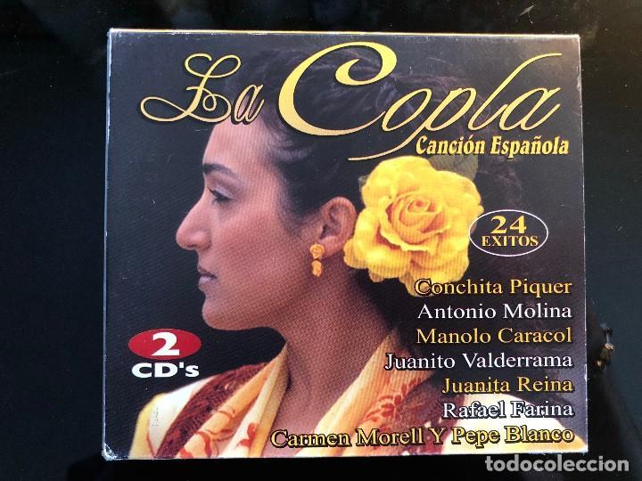 LA COPLA 24 ÉXITOS DE CANCION ESPAÑOLA (Música - CD's Flamenco, Canción española y Cuplé)