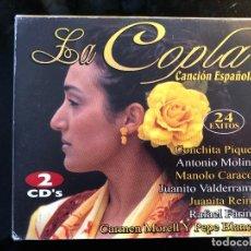 CDs de Música: LA COPLA 24 ÉXITOS DE CANCION ESPAÑOLA. Lote 110060955