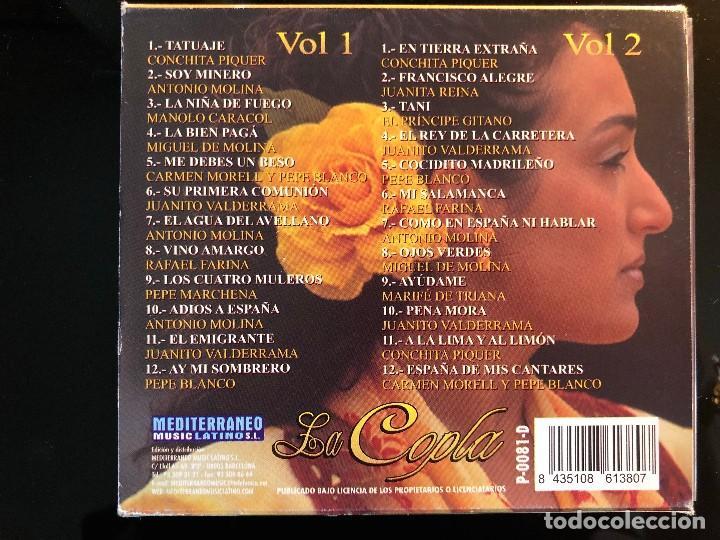 CDs de Música: LA COPLA 24 ÉXITOS DE CANCION ESPAÑOLA - Foto 2 - 110060955