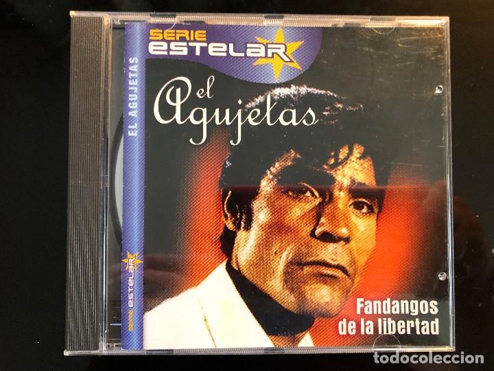 MANUEL AGUJETAS FANDANGOS DE LA LIBERTAD (Música - CD's Flamenco, Canción española y Cuplé)
