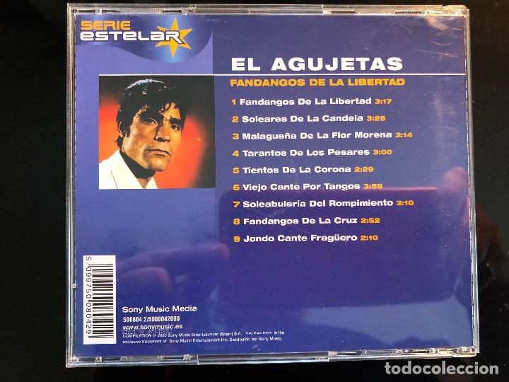 CDs de Música: MANUEL AGUJETAS FANDANGOS DE LA LIBERTAD - Foto 2 - 110063131
