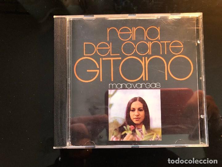 MARIA VARGAS REINA DEL CANTE GITANO (Música - CD's Flamenco, Canción española y Cuplé)