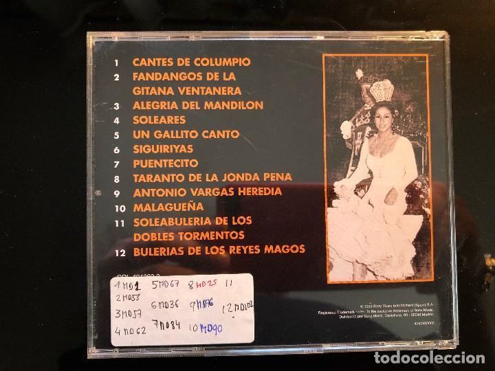 CDs de Música: MARIA VARGAS REINA DEL CANTE GITANO - Foto 2 - 110063239