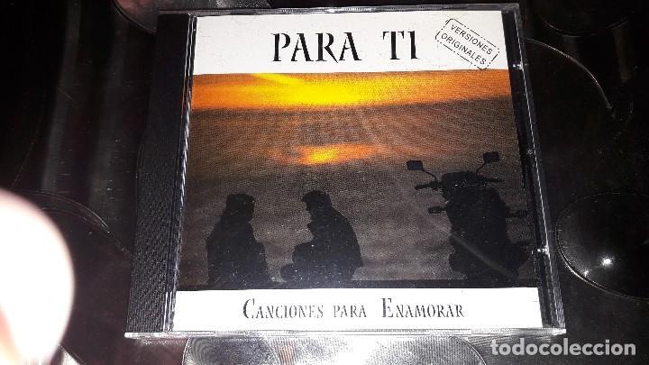 PARA TI - CANCIONES PARA ENAMORAR - 2001 (Música - CD's Melódica )