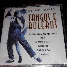 CDs de Música: TANGOS E BOLEROS - OS MELHORES. Lote 110064283