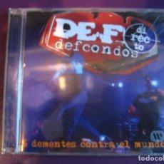 CDs de Música: DEF CON DOS CD DRO 2006 - 6 DEMENTES CONTRA EL MUNDO - HIP HOP NU METAL. Lote 110067803