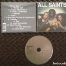 CDs de Música: CD ALBUM ALL SAINTS ( ALL SAINTS ) 1998 - ENGLAND CD. Lote 110087231