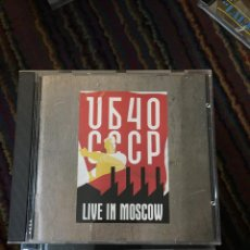 CDs de Música: UB40, CCCP LIVE IN MOSCOW CD. Lote 172154762