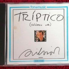 CDs de Música: SILVIO RODRIGUEZ (TRIPTICO VOLUMEN UNO) CD 1992. Lote 110104148