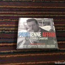 CDs de Música: PARISIENNE AFFAIR - LES HOMMES CHANTENT 3 CD. Lote 110136591