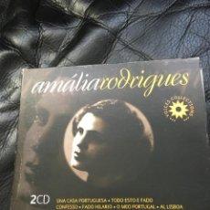 CDs de Música: AMALIA RODRIGUES VOICES COLLECTION + RECOPILATORIO DE FADO BANCO TOTA. Lote 110137423