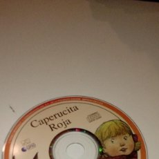 CDs de Música: C-011820 CD MUSICA SOLO CD SIN CARATULA CAPERUCITA ROJA . Lote 110154591