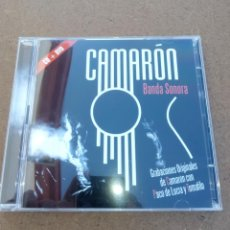 CDs de Música: CAMARÓN (LA PELÍCULA) -BANDA SONORA ORIGINAL-. Lote 110182799
