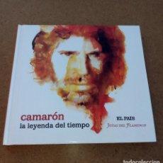 CDs de Música: CAMARÓN LA LEYENDA DEL TIEMPO -EL PAÍS, JOYAS DEL FLAMENCO-. Lote 110183291