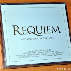CDs de Música: ESTUCHE DE 3 CDS: REQUIEM - THE WORLD'S MOST MOVING MUSIC - 53 TRACKS - VIRGIN RECORDS / EMI 2004. Lote 110187143