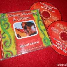 CDs de Música: DAVID ZAIZAR LA MUSICA MARAVILLOSA DE MEXICO 2CD 2006 EDICION MEXICO. Lote 110197035