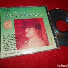CDs de Música: PEDRO YERENA LOS GRANDES DE LA MUSICA RANCHERA CD 1992 EDICION MEXICO. Lote 110211471