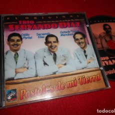 CDs de Música: TRIO SERVANDO DIAZ POSTALES DE MI TIERRA CD 1996 EDICION SUIZA TUMBAO CUBAN. Lote 110212339