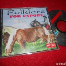 CDs de Música: FOLKLORE FOR EXPORT CD 1995 EDICION ARGENTINA FOLK ARGENTINO. Lote 110213955