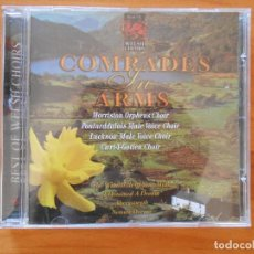 CDs de Música: CD COMRADES IN ARMS - BEST OF WELSH CHOIRS (2Y). Lote 110217795
