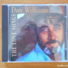 CDs de Música: CD DON WILLIAMS - THE LOVE SONGS (8P). Lote 110220187
