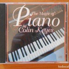 CDs de Música: CD THE MAGIC OF PIANO - COLIN KEYES (8P). Lote 110220451