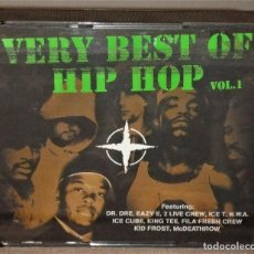 CDs de Música: VERY BEST OF HIP HOP VOL.1. Lote 110224391