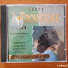 CDs de Música: CD VERDI - IL TROVATORE - THE GRAND OPERA COLLECTION (8P). Lote 110226599