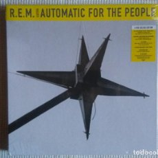 CDs de Música: R.E.M. - '' AUTOMATIC FOR THE PEOPLE 25TH ANNIVERSARY '' 3 CD + BLU-RAY + 60 PAGE BOOK DELUXE SEALED. Lote 110239899