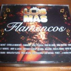 CDs de Música: PACKS DE 3 CDS. LOS MAS FLAMENCO. VARIOS ARTISTAS. EDICION SONY DE 2007. RARO.. Lote 110249899