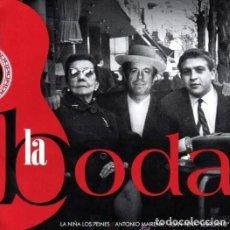 CDs de Música: LA BODA - ANTONIO MARIENA - LA NIÑA DE LOS PEINES - EL LEBRIJANO - NUEVO, PRECINTADO. Lote 141636309