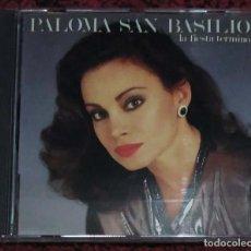 CDs de Música: PALOMA SAN BASILIO (LA FIESTA TERMINO) CD 1991 * MUY DIFICIL DE CONSEGUIR. Lote 110260859