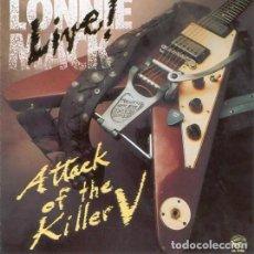 CDs de Música: LONNIE MACK - LIVE ATTACK OF THE KILLER V - CD . Lote 110374379