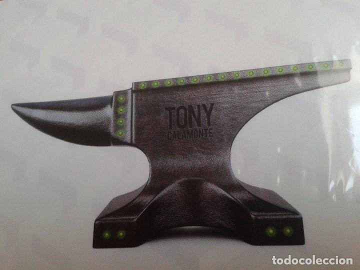 CDs de Música: Tony Calamonte - The Beat Machine - Música Electrónica - 7 Tracks - Descatalogado - Foto 2 - 110395747