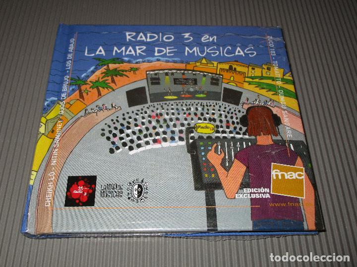 RADIO 3 EN LA MAR DE MUSICAS - CD - PRECINTADO - EDICION EXCLUSIVA FNAC - LOS DE ABAJO - TOMATITO .. (Música - CD's World Music)