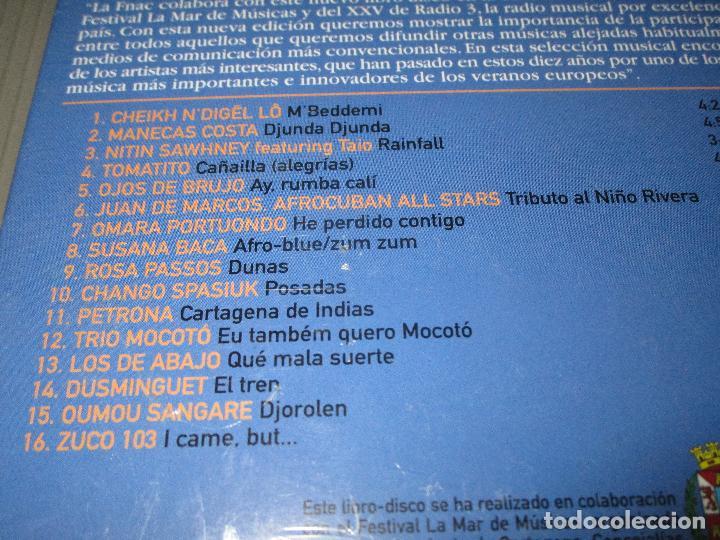 CDs de Música: RADIO 3 EN LA MAR DE MUSICAS - CD - PRECINTADO - EDICION EXCLUSIVA FNAC - LOS DE ABAJO - TOMATITO .. - Foto 3 - 110397099