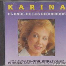 CDs de Música: KARINA CD EL BAÚL DE LOS RECUERDOS 1994 DIVUCSA. Lote 110399223