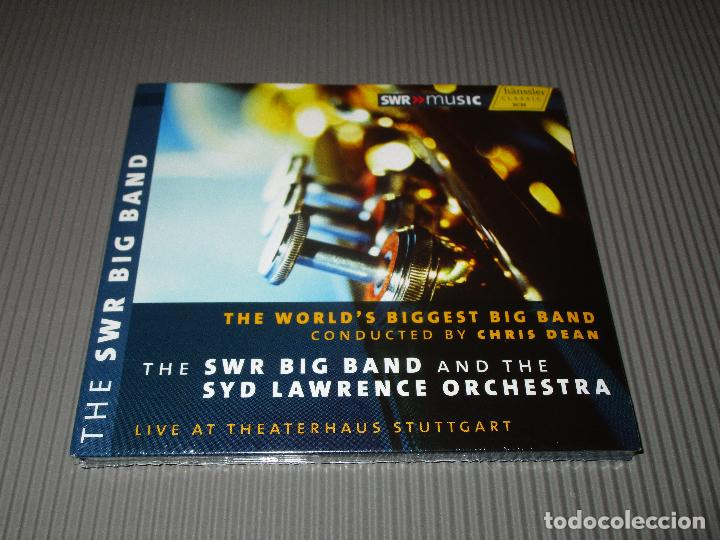 THE WORLD'S BIGGEST BIG BAND ( CONDUCTED BY CHRIS DEAN ) - CD DIGIPACK - 93.278 - HANSSLER (Música - CD's Jazz, Blues, Soul y Gospel)
