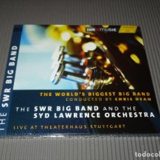 CDs de Música: THE WORLD'S BIGGEST BIG BAND ( CONDUCTED BY CHRIS DEAN ) - CD DIGIPACK - 93.278 - HANSSLER. Lote 110403387