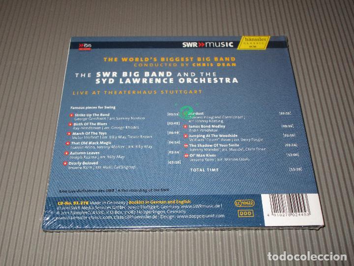 CDs de Música: THE WORLD'S BIGGEST BIG BAND ( CONDUCTED BY CHRIS DEAN ) - CD DIGIPACK - 93.278 - HANSSLER - Foto 2 - 110403387