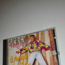 CDs de Música: SERGIO VARGAS . EL MERENGUE SE BAILA PEGAO. Lote 110410884