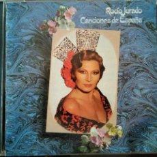 CDs de Música: ROCÍO JURADO CANCIONES DE ESPAÑA CD. Lote 110446283