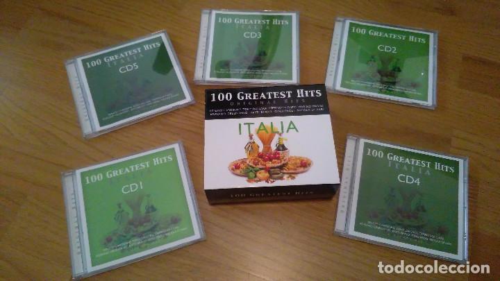 100 GREATEST HITS, PACK 5 CDS MUSICA ITALIA ITALIANA (Música - CD's World Music)