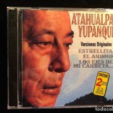 CDs de Música: ANTOLOGÍA ATAHUALPA YUPANQUI 2 CD. Lote 110475631