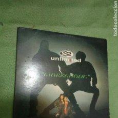 CDs de Música: 2 UNLIMITED. WORKAHOLIC. Lote 110492094