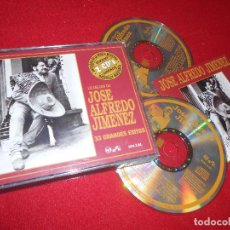CDs de Música: JOSE ALFREDO JIMENEZ 33 GRANDES EXITOS 2CD 1990 EDICION AMERICANA USA. Lote 110552999
