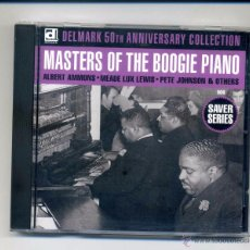 CDs de Música - Varios-Masters Of The Boogie Piano (cd Delmark) Piano Blues, Boogie Woogie. Albert Ammons... - 110616419
