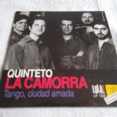 CDs de Música: QUINTETO LA CAMORRA TANGO CIUDAD AMADA. Lote 110629423