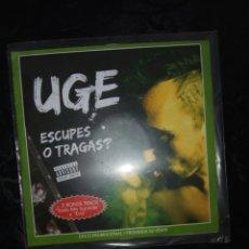 CDs de Música: UGE / EX-EXTREMODURO / CD PROMO / ESCUPES O TRAGAS. Lote 110636466